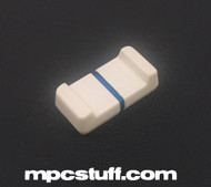 MPC 1000 Slider Knob - White / Blue Line ( USED )