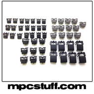 MPC 2500 Black Color Replacement Button Set Kit