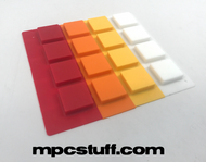 Akai MPC / MPD Thick Fat Pad Set ( 808 / Custom Multi Color Style )