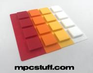 Akai MPC / MPD Thick Fat Pad Set ( 808 / Custom Multi Color Style )
