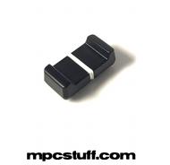 Black w/ White Line Slider Knob - Akai MPC1000 / MPC500