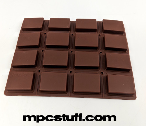 MPC 1000 Extra Sensitive Thick Fat Pad Set ( Chocolate Brown )