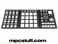 Akai MPC X Metal Top Faceplate Panel with Lettering