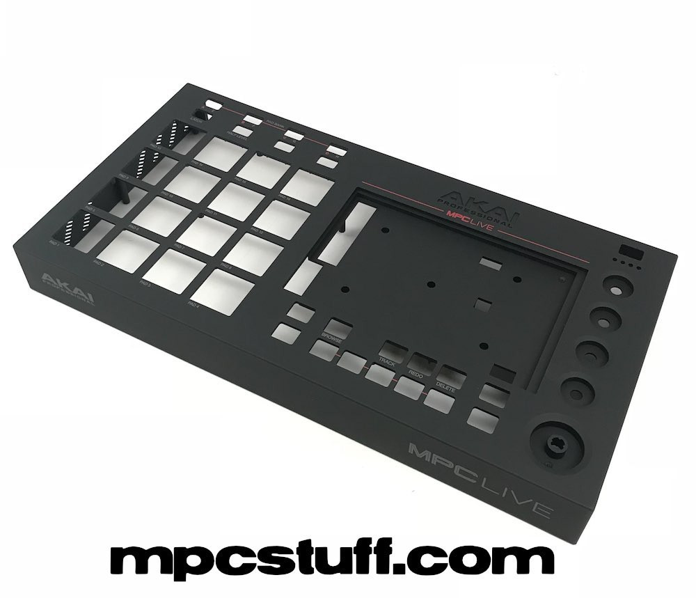 Akai MPC Live Top Faceplate Panel Casing with Lettering