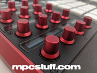 MPC-X Billet Knobs Anodized Red