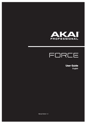 Akai Force Owners Manual Book - User Guide - Printed Version