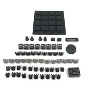 Full Black Out Button Knob Kit - Akai MPC2500