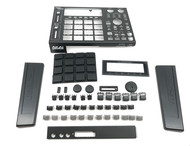 Full Black Out Button Knob Kit w/ Casings - Akai MPC1000
