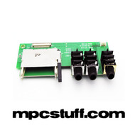 MPC 5000 Memory Card Slot / Headphone PCB Board