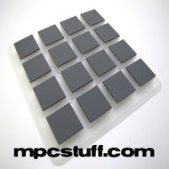 Grey Rubber Pad Set - Akai MPC Renaissance