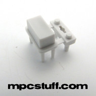Single Small Button - White - MPC Renaissance