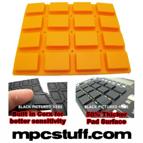 Akai MPC 1000 Extra Sensitive Thick Fat Pad Set ( Orange )