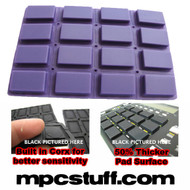 Akai MPC 1000 Extra Sensitive Thick Fat Pad Set ( Purple )
