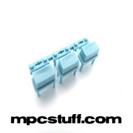Small Numeric Button ( Set of 3 ) - Light Blue - MPC Renaissance