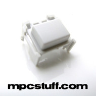 Medium Sized Button - White - MPC Ren