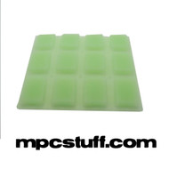 Akai MPC 500 / MPK Glow Green Thick Fat Pad Set