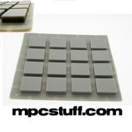 Thick Fat Pads Akai MPD / MPD - Grey