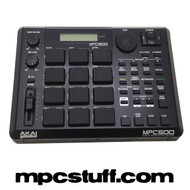 Akai MPC 500 Black ( Used Blacked Out - Many Upgrades )