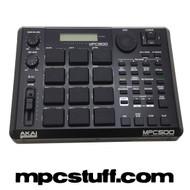 Akai MPC 500 Black ( Used Blacked Out - Many Upgrades )