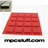 Thick Fat Pads - Akai MPD / MPC - Red