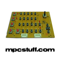 MPC 500 Top Right PCB Board w/ Switches