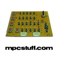 MPC 500 Top Right PCB Board w/ Switches