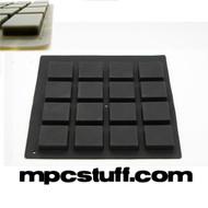 MPCStuff Akai MPC / MPD Thick Fat Pads - Black