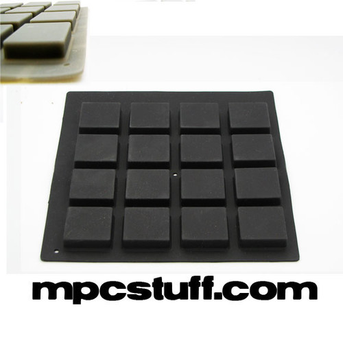 MPCStuff Akai MPC / MPD Thick Fat Pads - Black