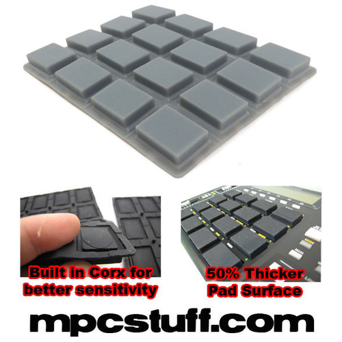 Dark Grey Thick Pads for MPC1000
