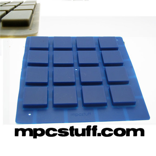 MPCstuff Thick Fat Pads Akai MPC / MPD - Blue