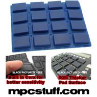 Akai MPC 1000 Extra Sensitive Thick Fat Pad Set ( Blue )