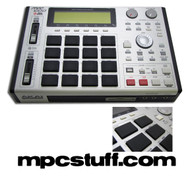 Akai MPC 1000 Faceplate Skin - Brushed Silver