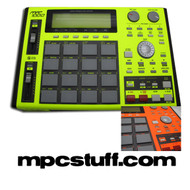 Akai MPC 1000 Faceplate Skin - Fluorescent Color