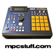 Akai MPC 2000XL Blue MCD Style Casing Kit - Used