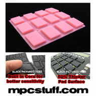 Akai MPC 500 / MPK Sensitive Thick Fat Pad Set ( Bright Pink )