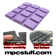 Akai MPC 500 / MPK Sensitive Thick Fat Pad Set ( Purple )