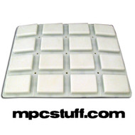Akai MPC 1000 White Replacement Pad Set ( White )