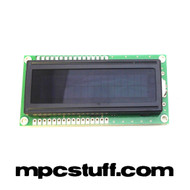 Akai MPC 500 Black / Red Backlight LCD Screen Replacement