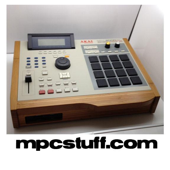 Akai MPC 2000XL w/ Bamboo Sides , MCD , Upgrades