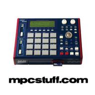 Akai MPC 1000 Blue (Used) w/ Pad Upgrade