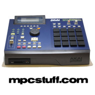 Akai MPC 2000XL BLUE with MCD Drive