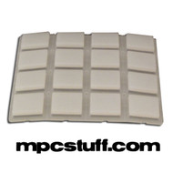 Akai MPC 1000 Clear Replacement Pad Set ( Transparent )