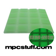 MPC 1000 Glow in the Dark Thick Fat Pad Set - Green