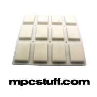 Akai MPC 500 / MPK White Pad Set