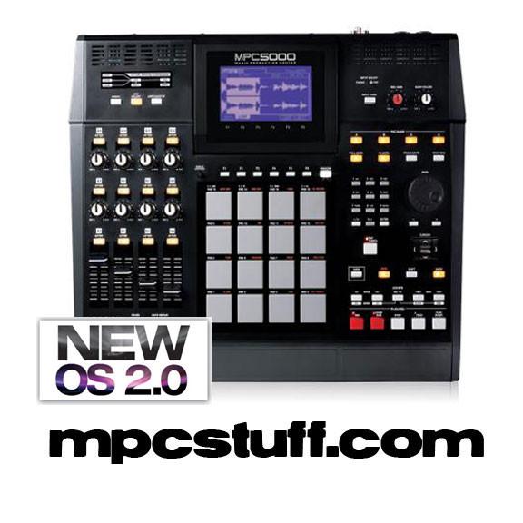Akai MPC 5000 Production Center ( Maxed Out ) - MPCstuff - Akai MPC