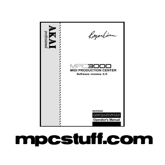 MPC 3000 Owners Manual