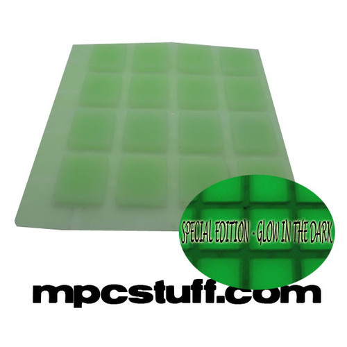 Akai MPC / MPD Glow in the Dark Thick Fat Pad Set - 1