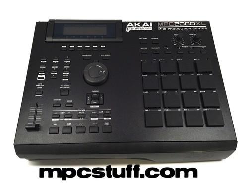Akai MPC 2000 XL Faceplate Skin - Black