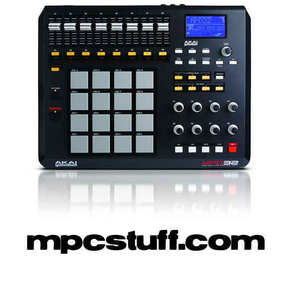 Akai MPD 32 Performance Controller w/ Software and Any Color Pads