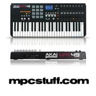 Akai MPK 49 MIDI Keyboard and MPC Pad Controller